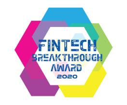 Award Seal; FinTech Breakthough Awards 2020 Best RegTech Solution