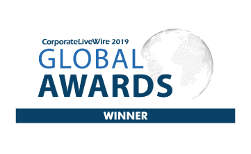 Award Seal; Corporate LiveWire Global Awards 2019 Compliance Software Solutions CEO of the Year; Ron Lesh, BGL Founder and Managing Director.