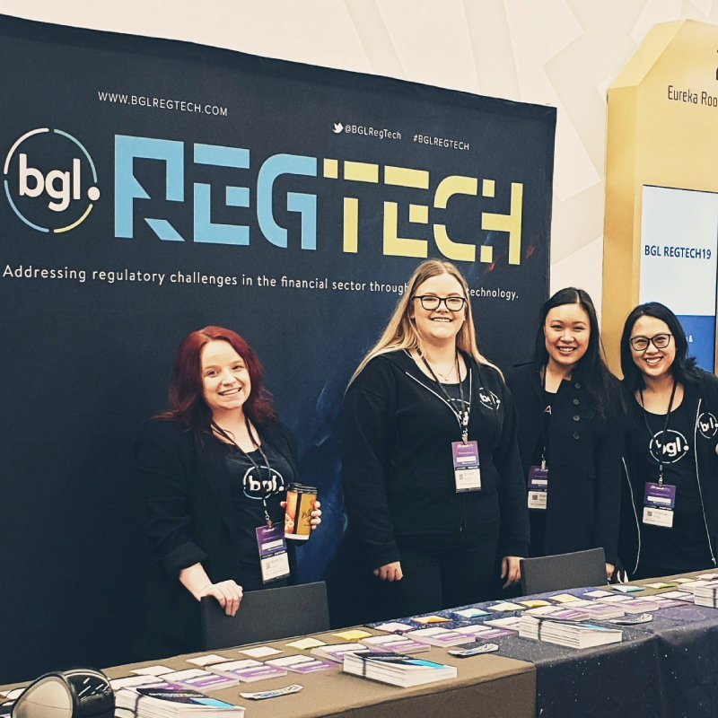 BGL Team Photo. Left to right; Rebecca Love, Brooke Geddie, Anna Nguyen, Virginia Fong.